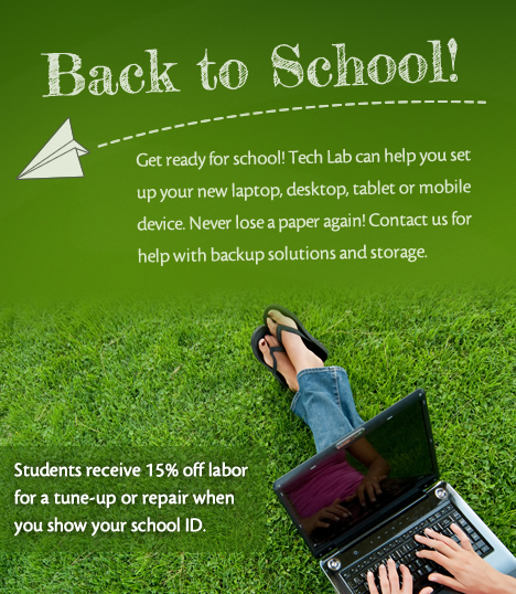Back To School Special 15% Off Tune Up or Repair