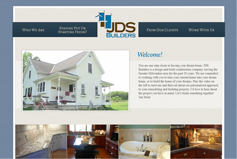JDS Builders Website