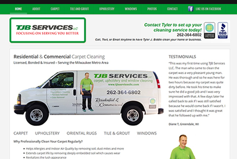 TJB Services Website