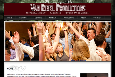 Van Rixel Productions Website